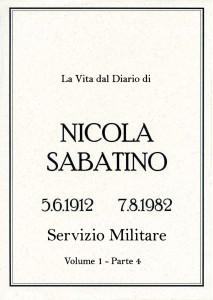 Sabatino Nicola_Diario_Volume_1_4_Servizio_Militare