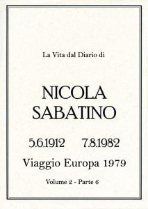 Sabatino Nicola_Diario_Volume_2_6_Europa_1979