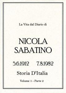 Sabatino Nicola_Diario_Volume_1_2_Storia_Italia