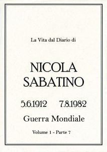 Sabatino Nicola_Diario_Volume_1_7_Guerra_Mondiale