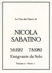 Sabatino Nicola_Diario_Volume_2_1_Emigrante_Solo